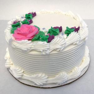 "6"" Cake Serves 4-6"